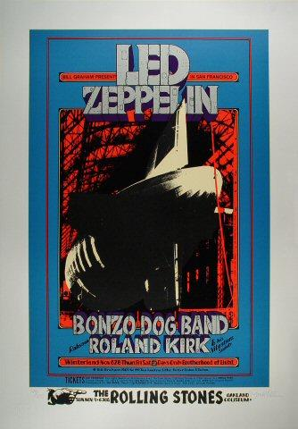Led Zeppelin Serigraph