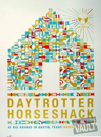 Daytrotter SXSW Horseshack Poster