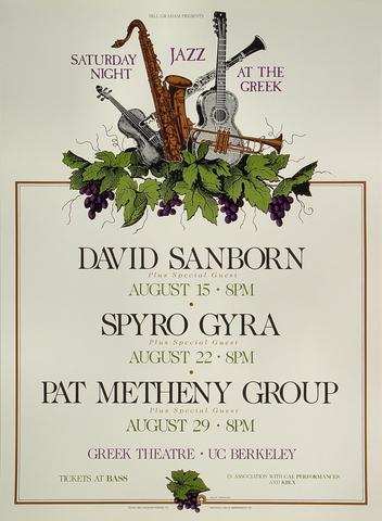 David Sanborn Poster