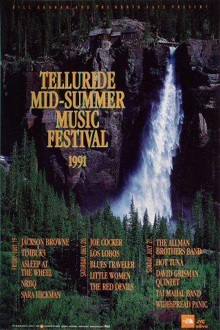 Telluride Mid-Summer Music Festival Poster