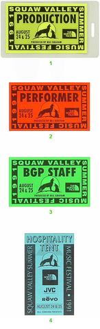 Squaw Valley Summer Music Festival Laminate