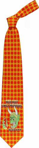 Red Hot Chili Peppers Necktie
