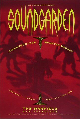 Soundgarden Poster