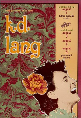 k.d. lang Poster