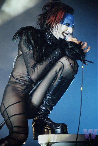 Marilyn Manson Fine Art Print