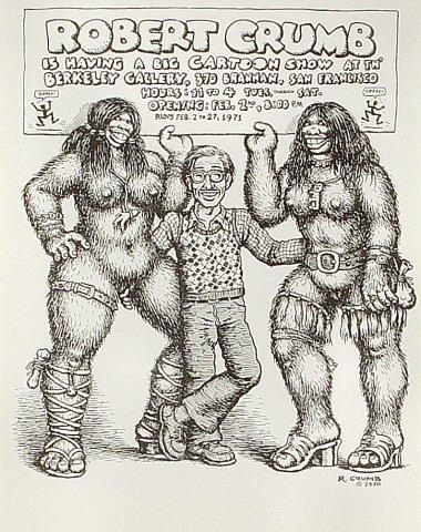 R. Crumb Handbill