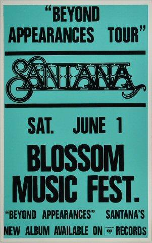 Blossom Music Festival Poster