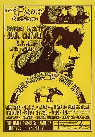 John Mayall Poster