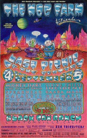 Mickey Hart & Planet Drum Poster