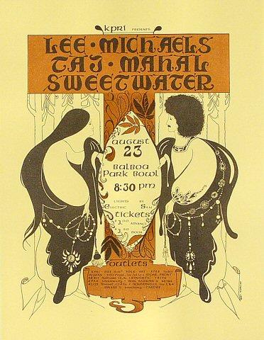 Lee Michaels Handbill
