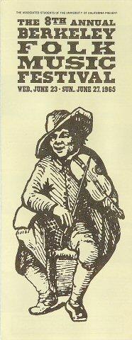 Berkeley Folk Music Festival Program
