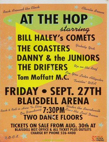 Bill Haley's Comets Handbill
