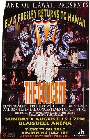Elvis Presley Handbill