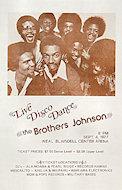 The Brothers Johnson Handbill