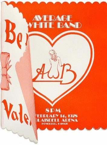 Average White Band Poster