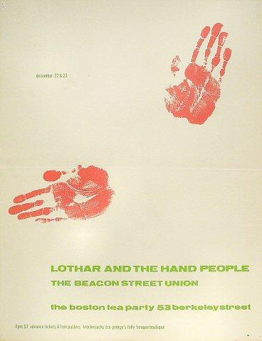 Lothar and the Hand People Poster