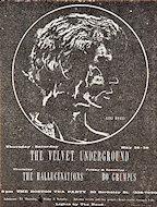 The Velvet Underground Handbill
