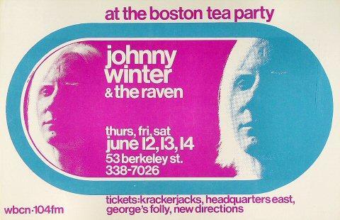 Johnny Winter Poster