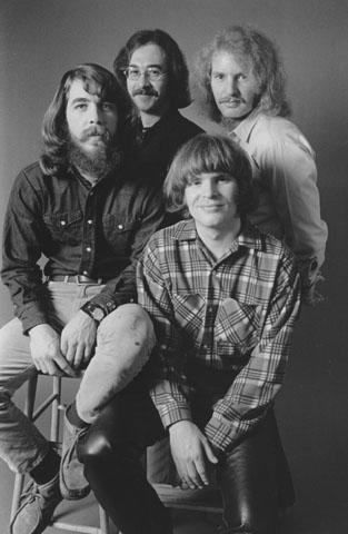 Creedence Clearwater Revival Fine Art Print