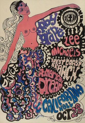 Moby Grape Poster