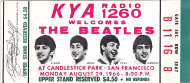 The Beatles Vintage Ticket