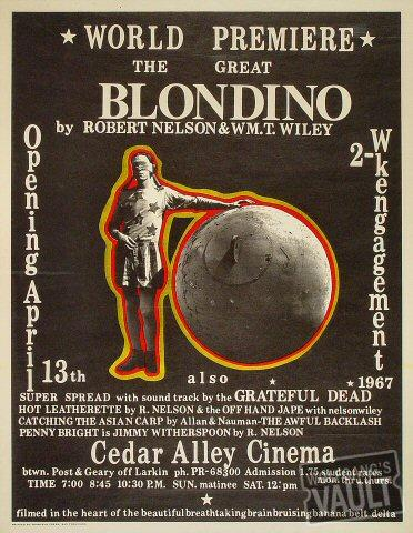 The Great Blondino Poster