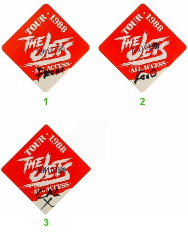 The Jets Backstage Pass