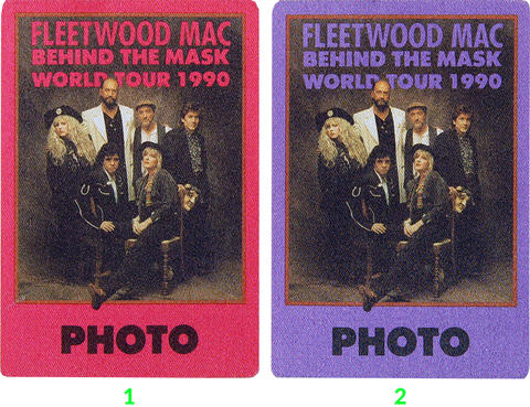 Fleetwood Mac Backstage Pass