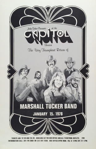 The Marshall Tucker Band Poster