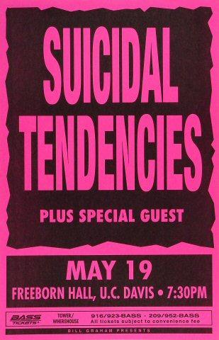 Suicidal Tendencies Poster