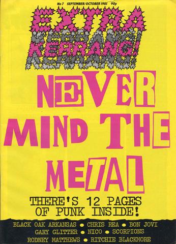 Extra Kerrang! Issue 7 Magazine
