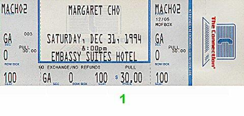 Margaret Cho Vintage Ticket