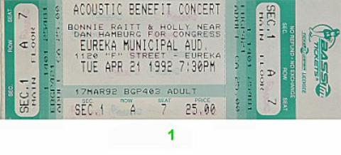 Acoustic Benefit Concert: Dan Hamburg for Congress Vintage Ticket