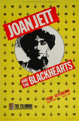 Joan Jett & The Blackhearts Poster