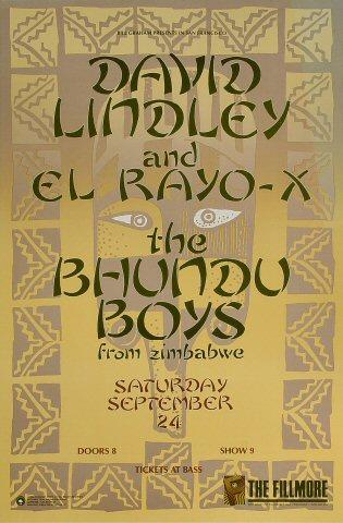David Lindley and El Rayo X Poster