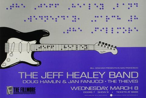 The Jeff Healey Band Poster