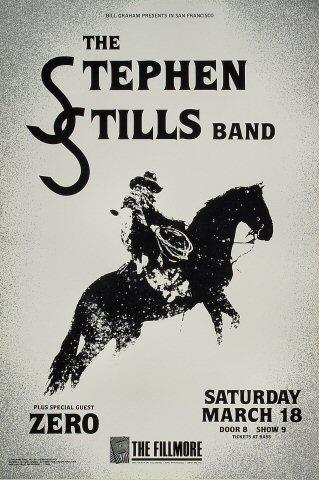 The Stephen Stills Band Poster