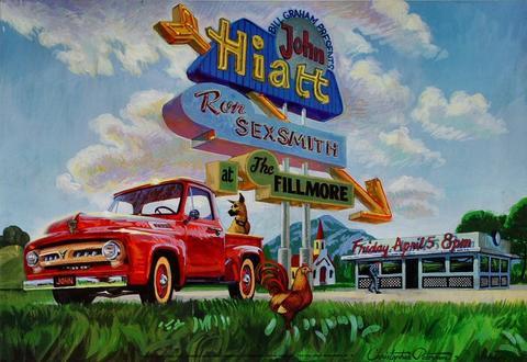 John Hiatt Poster