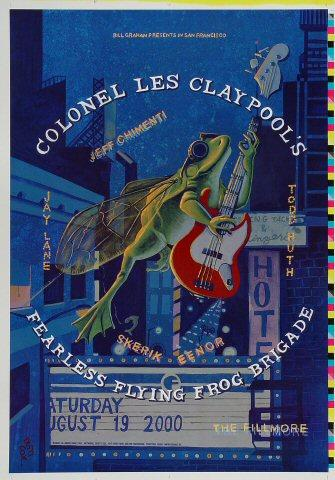 Colonel Les Claypool's Fearless Flying Frog Brigade Proof