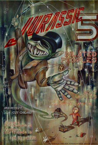 Jurassic 5 Poster