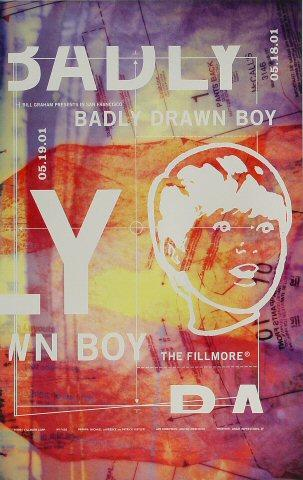 Badly Drawn Boy Poster