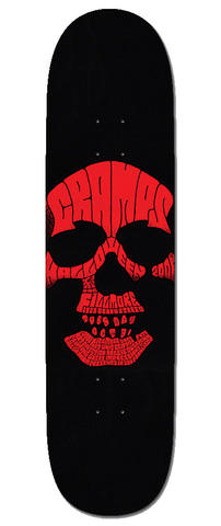 The Cramps Skateboard