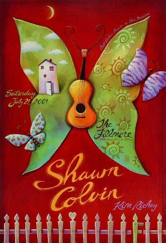 Shawn Colvin Poster
