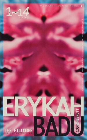 Erykah Badu Poster