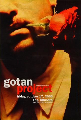 Gotan Project Poster