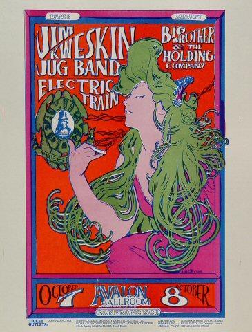Jim Kweskin Jug Band Handbill