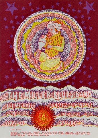 The Steve Miller Blues Band Handbill
