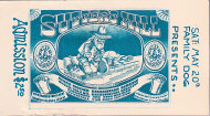 Quicksilver Messenger Service Vintage Ticket