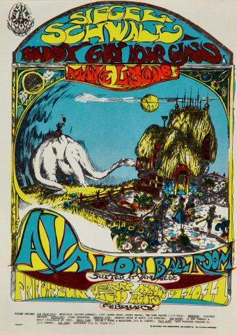 Siegel-Schwall Band Postcard