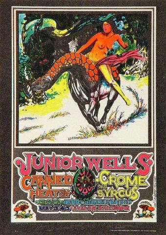 Junior Wells Postcard